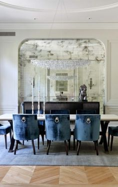 Mirror without a fireplace