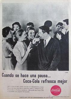 COCA COLA .AÑOS 60