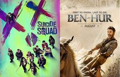 Movie Releases in August 2016: Suicide Squad, Pete's Dragon, Ben-Hur, Don't Breathe, Blood Father and More