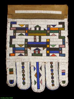 Beadwork, Beading, Beads And Wire, South Africa, Apron, Objects, African, Traditional, Quilts