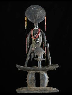 Africa   Doll ~ Akua Mma or Akwaba ~ from the Ashanti people of Ghana   ca. 1980  Pinned from PinTo for iPad 