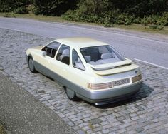 The Probe III concept, which would form the basis of the Ford Sierra's (in the U.S., Merkur XR4Ti) styling. Image courtesy of Ford Motor Company.