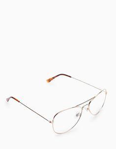 Gafas aviador reader de STRADIVARIUS (AW15-16) por 9,95€. Ref. 07820003