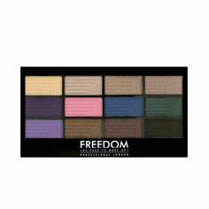 Freedom Pro 12 Eyeshadow Palette Dreamcatcher
