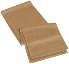 Lenox Simply Fine 90-Inch Runner, Khaki by Lenox. $31.49. 54-Percent cotton and 48-Percent microfiber polyester. Machine wash and tumble dry cool. Lenox sets the highest standards for quality, artistry, and beauty. Available in placemats, napkins, tablecloths, and runners. Lustrous color and maximum durability are the trademarks of Lenox linens. Cotton54% / Polyester46%. Dine elegantly with Lenox's Simply Fine woven microfiber damask table linens. This damask ta...