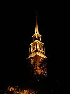 Memorial Church in Harvard Yard.