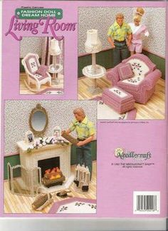 plastic canvas patterns for barbie furniture | member of listia gave this away for free do you want free stuff like ...