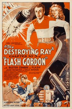 Flash Gordon is a 1936 science fiction film serial. Told in 13 installments, it was the first screen adventure for the comic-strip character Flash Gordon, and tells the story of his first visit to the planet Mongo and his encounter with the evil Emperor Ming the Merciless. Buster Crabbe, Jean Rogers, Charles B. Middleton, Priscilla Lawson and Frank Shannon played the central roles.