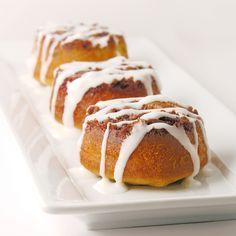 Cinnamon Upside Down Cakes!