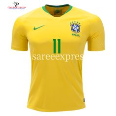 f6679eacc Nike Coutinho Brazil Home Jersey World Cup 2018 - Saree Express