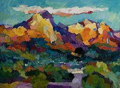 Larisa Aukon White Cloud by Larisa Aukon Oil ~ 30 x 40