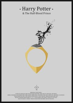 Harry Potter And the Half-Blood Prince - Minimalist Poster by H. Svanegaard, via Flickr