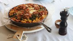 The Living Room - Friday: Tuna Pasta Bake - Recipe By: Miguel Maestre Baked Pasta Recipes, Seafood Recipes, Italian Dishes, Italian Recipes, Tuna Pasta Bake, Quick Family Meals, Spiral Pasta, Sausage Rolls, Meal Prep For The Week