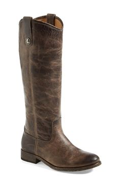 Love the weathered look of these riding boots