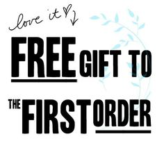 First Order, free Gift!