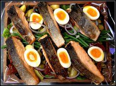Salmon Nicoise by bartlett mitchell, raising the bar of hospitality food