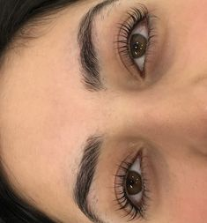 Natural Makeup For Brown Eyes, Natural Lashes, Long Lashes, Eyelashes, Eyebrows, Eyelash Lift, Eyelash Tinting, Daily Makeup Routine, Aesthetic Eyes