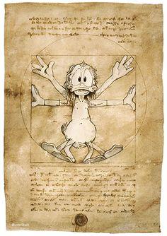 Walt Disney World History – Travel Back in Time – Viral Gossip Appropriation Art, Disney Drawings, Art Drawings, Da Vinci Vitruvian Man, Pop Art, Famous Artwork, American Gothic, Artist Art, Drawing Techniques