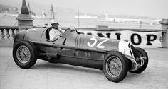 Tazio Nuvolari 1935 Alfa Romeo Tipo C 8C-35