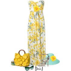 Maxi Dress Collection by dimij on Polyvore