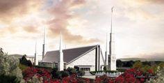Dallas Temple by Brent Borup