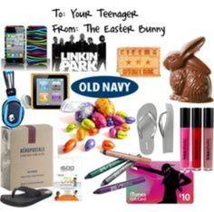 Favors for a Teen Easter Egg Basket