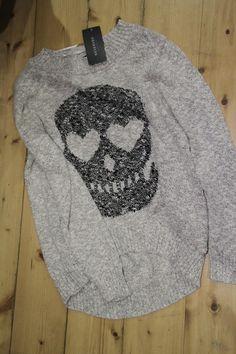 Skull Design on Sweater ~