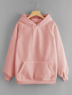 To find out about the Drawstring Detail Solid Hoodie at SHEIN, part of our latest Sweatshirts ready to shop online today! Teen Fashion Outfits, Fashion Clothes, Casual Outfits, Fashion Dresses, Cute Outfits, Emo Outfits, Tomboy Outfits, Summer Outfits, Trendy Hoodies