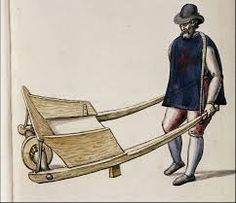 Image result for medieval wheelbarrow