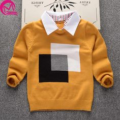Nice 2017 New Spring Autumn Kids Cotton Causual Long Sleeve Hooded Sweaters For Boys Girls Baby Fall Sweater Knit Clothing Cardigan - $ - Buy it Now!
