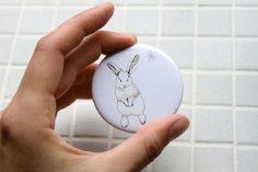 Adore.  Rabbit mirror