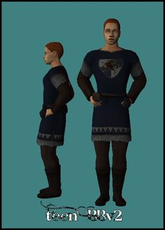 PBK: Tig's Alpha-Tunic for Teen BBv2 by G-Knee