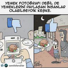 Paylaşmak Karikatürü Şeref Efendiler Save The Planet, Karma, Chibi, 1, Humor, Comics, Words, Funny, Instagram Posts