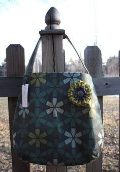 Mary Lou Tote, $48.00 Honey Lane