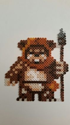Ewok - Star Wars - Cute - Pärlor - Perler beads - Hama by Lotta