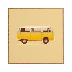It's not hard to love the fun-loving nature of the classic sixties bus. Pay homage to the unofficial car of the California coast with this sunny-hued art print handsomely framed in eco-friendly bamboo....  Find the Dune Bus Art Print, as seen in the The Wonderfully Weird 70s Collection at http://dotandbo.com/collections/the-wonderfully-weird-70s?utm_source=pinterest&utm_medium=organic&db_sku=98957