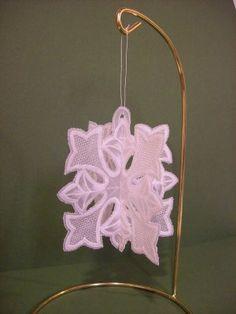 Pergamano snowflake