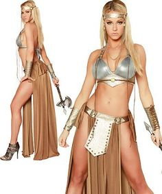 Amazon.com: 3WISHES Dragon Slayer Costume Sexy Dragon Warrior Halloween Costumes for Women: Clothing