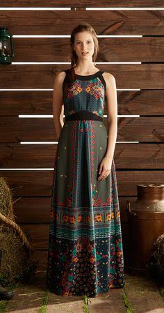 Só na Antix Store você encontra Vestido Longo Jardim de Inverno com exclusividade na internet