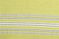 Bella-Dura TICKING KEYLIME indoor/outdoor fabric. $28.50/yd, 5 yard min.
