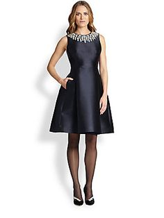 Carmen Marc Valvo Floral Brocade Dress @saks Price: $485 - Dinner ...