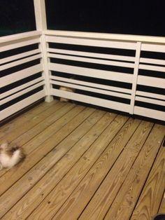 Horizontal Porch Railing