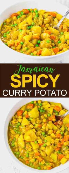 Jamaican Spicy Potato Curry (Vegan) that very deli. Jamaican Spicy Potato Curry (Vegan) that very delicious
