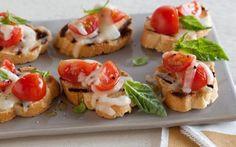 Bruschetta Pizzaiola Recipe by Debi Mazar and Gabriele Corcos