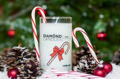 Candy Cane Ring Candle by diamondcandles - I love the smell of candy canes! The ring is just a bonus...