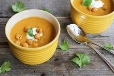 Vegan Sweet Potato Coconut Curry Soup