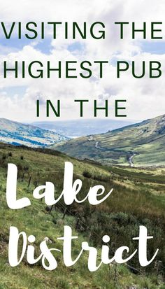 Visiting the highest pub in the Lake District. Kirkstone Pass Inn- highest pub in England England And Scotland, England Uk, Yorkshire England, Oxford England, Cornwall England, Travel England, Yorkshire Dales, London England, Visit England