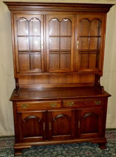 Dining room Cherry Sideboard with Queen Anne Legs by Colonial
