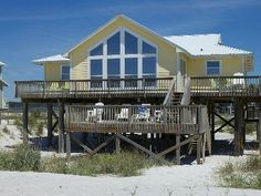 Homes, Single Family Vacation Rental - VRBO 106633 - 4 BR Gulf Shores West House in AL, Here to Dream - - Open April 6-19 * Call for Last Minute Specials