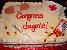 graduation cupcakes ideas   Nursing Themed Cakes